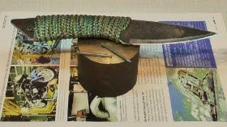ЗАКАЛКА ножа в ГРАФИТЕ.(ВИДЕО эксперимент по закалке ножей и прочих режущих инструментов в ГРАФИТЕ (по моему способу).также в этом..., 2015-03-06T16:56:02.000Z)