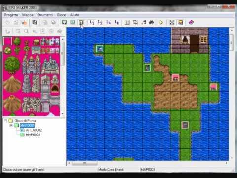 TUTORIAL BASE ~ RPG MAKER - 07 - Mappe e Teletrasporti