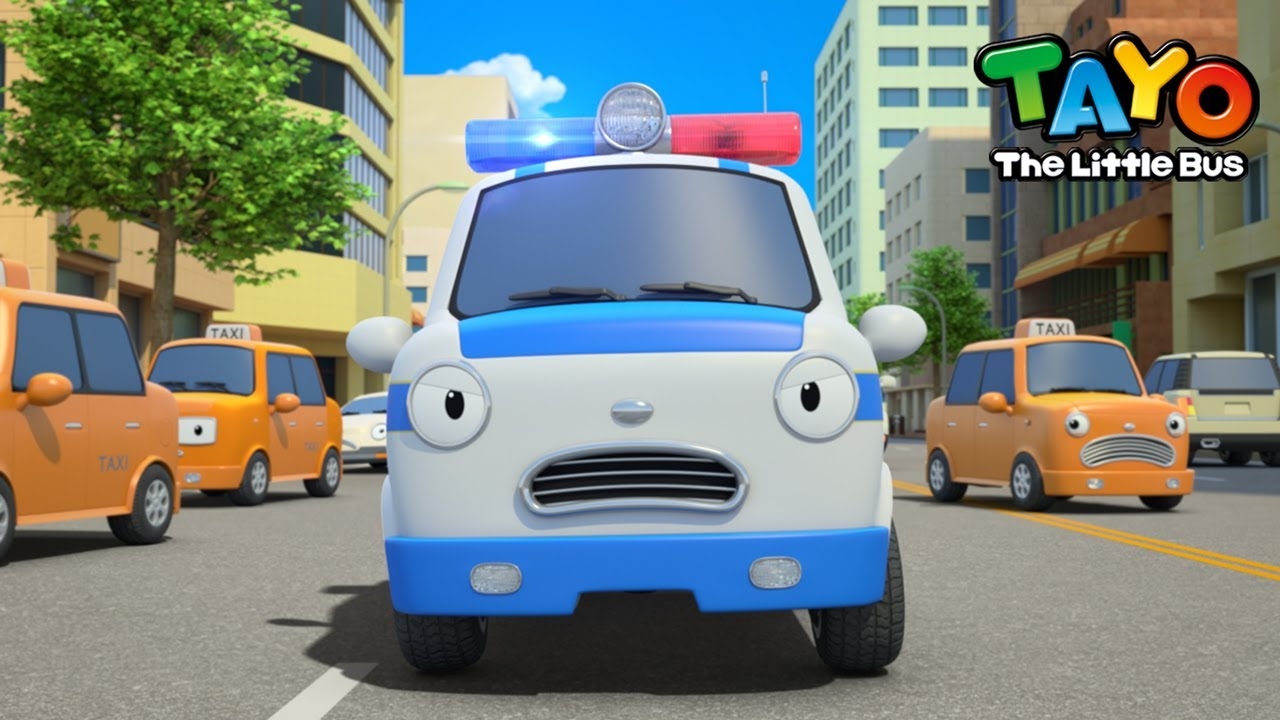 Tayo Bahasa Indonesia Spesial l #7 Mobil Polisi Sedang Bertugas! l Tayo Bus Kecil