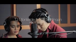 TJ Monterde Ft. KZ Tandingan - Ikaw At Ako Pa Rin - Official Lyric Video