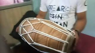 Super fast dholak player new style by lovely brar dholak made by Chet ram Gill dholak 9888303415 MP3