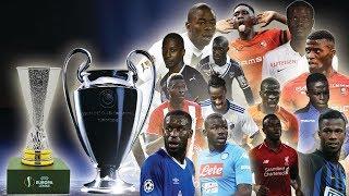 Bilan des Lions en Coupe d'Europe (Ligue des Champions, Europa League)