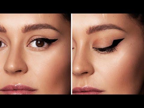 DAMARIS PROBIERT einen Eyeliner für SCHLUPFLIDER | Lipstickbakery thumbnail