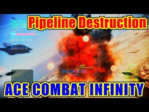 Pipeline Destruction - ACE COMBAT INFINITY / エースコンバット インフィニティ