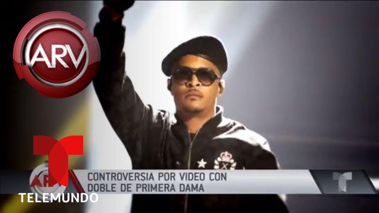 controvertido-video-de-rapero-con-doble-de-melania-trump-al-rojo-vivo-telemundo