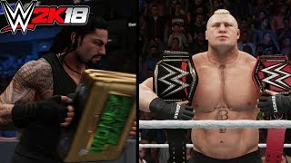 WWE 2K18: What Happens When You Cash In Money In The Bank Against A Double World Champion?