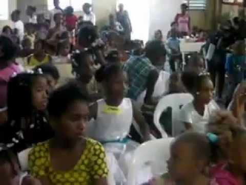 Culto de Niños Iglesia El Calvario