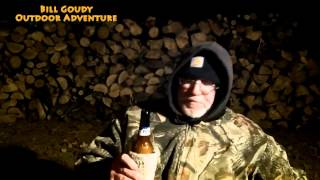 Busch Beer Time With Bill And Deer Soup On The Campfire