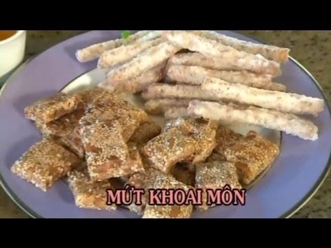 Mứt Khoai Môn - Xuân Hồng