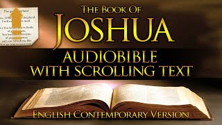 Holy Bible Audio: JOŠHUA 1 to 24 - With Text (Contemporary English)