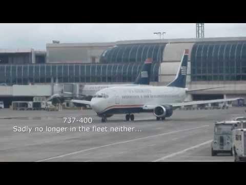 US Airways Charlotte - New York JFK (First Class) A321-200 video report (Apr 2014)