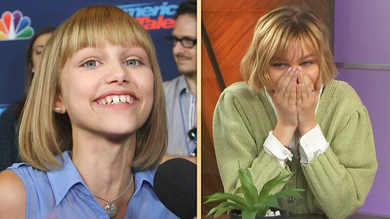 See Grace VanderWaal REACT to Her First ET Interview! (Exclusive)