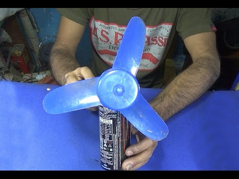 How To Make A High Speed Fan Using Dc Motor