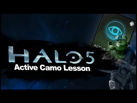 Halo 5: Active Camo Lesson