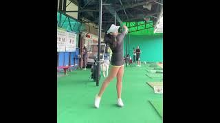 김솔비 프로 👍골프스윙 (골프여왕 골프스윙- golf swing golf queen) :