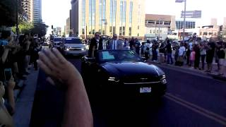 Arizona Rattlers 2014 Parade Downtown Phoenix