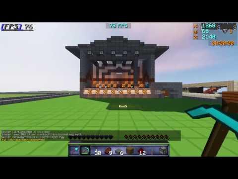 Minecraft Bühne
