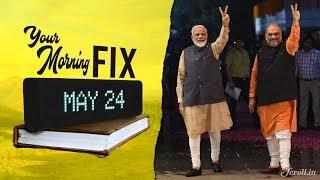 Your Morning Fix: Narendra Modi-led NDA returns with a bigger mandate