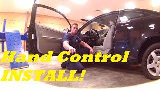 Veigel Hand Control Install