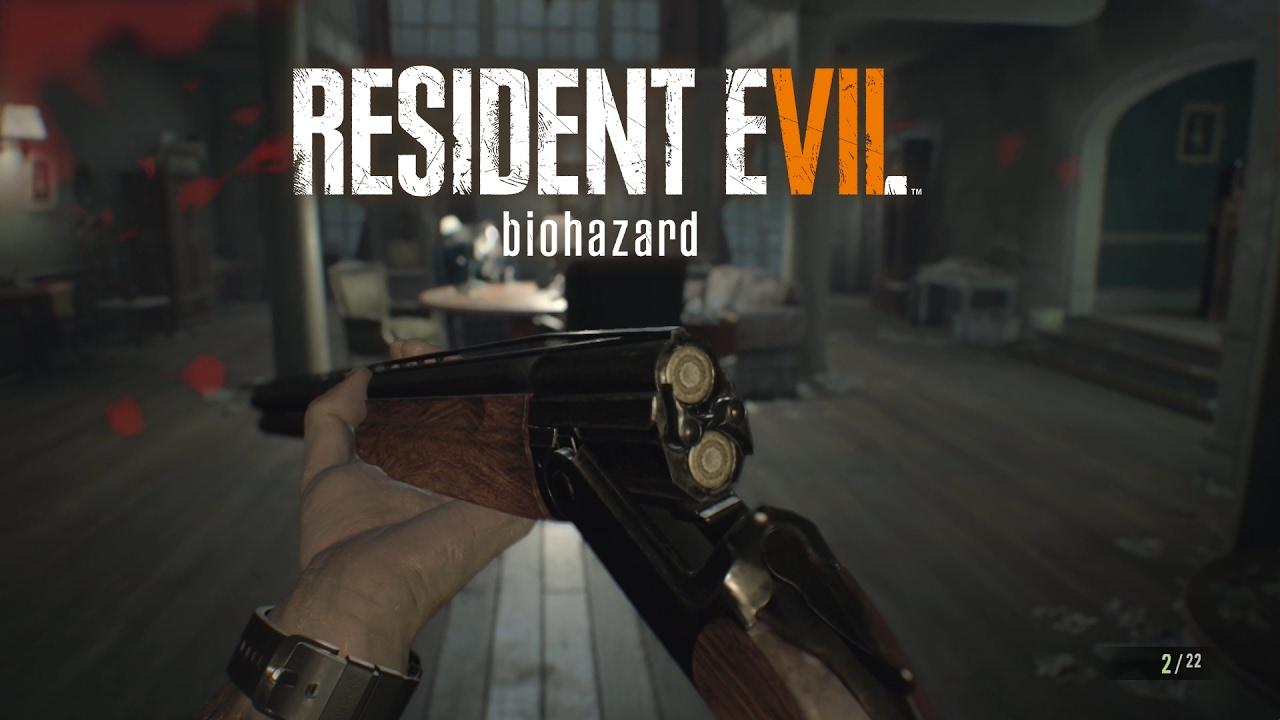 Resident Evil 7: Biohazard | Fundort Doppelläufige Shotgun ...