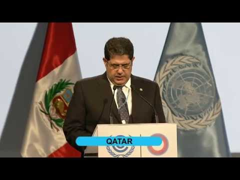 PANAMA speaking on behalf of the CfRN at COP20 Lima
