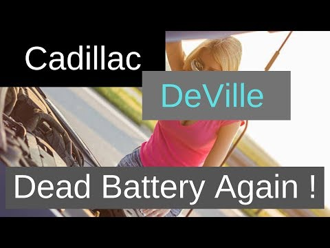 Cadillac – How to Quickly Fix Battery Drain Parasitic Draw – Dead Battery