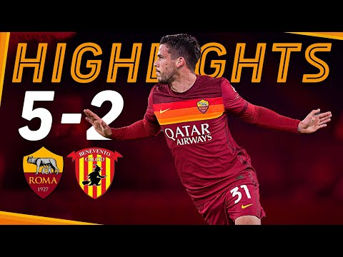 CARLES PEREZ UNSTOPPABLE 🌪   Roma 5-2 Benevento   Serie A Highlights 2020-21