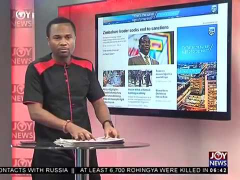 AM Show Newspaper Headlines on JoyNews (15-12-17)