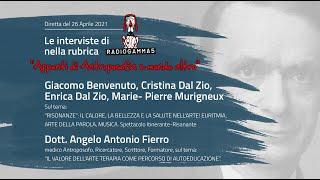 RADIO GAMMA 5 - Ospiti: G. Benvenuto, C. Dal Zio, E. Dal Zio, Dott. Angelo Fierro