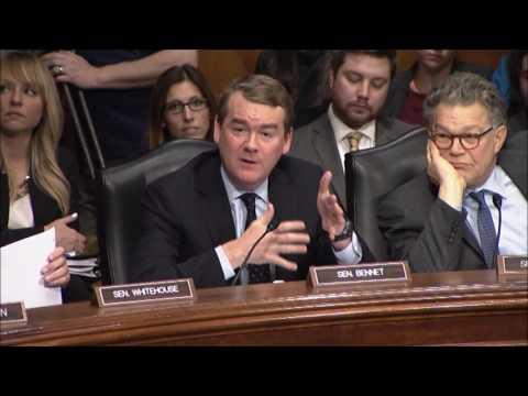 Sen. Michael Bennet Questions Education Nominee Betsy DeVos