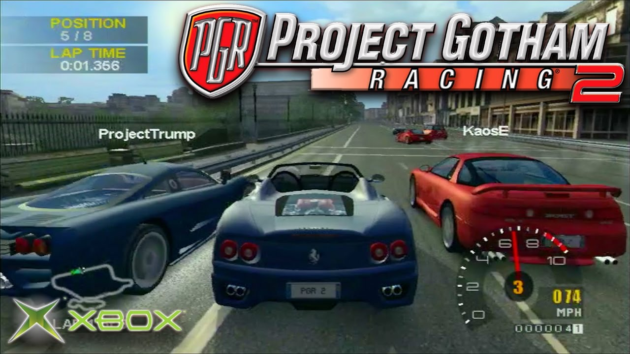 Old Xbox Games Racing Games : Project gotham racing multiplayer street race