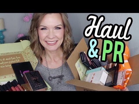 Haul & PR Show & Tell! | LipglossLeslie