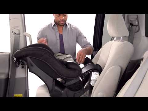 How To Install Cosco Scenera NEXT Convertible Car Seat