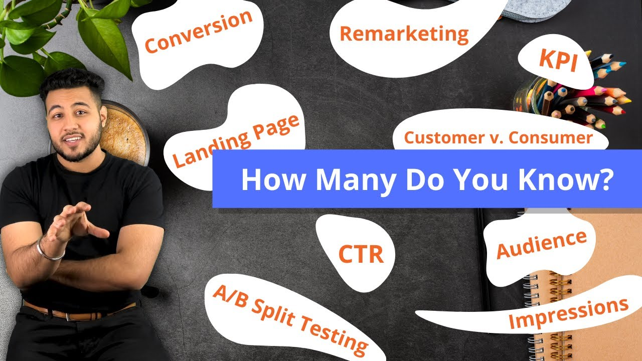 15 Digital Marketing Terms Every Business Owner Should Know