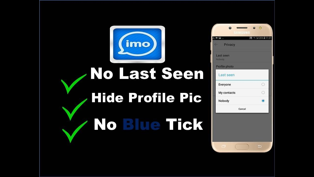 How to Hide Last Seen On Imo | How To Hide Read Receipts on imo | How to  Hide Profile Photo on imo