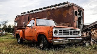ABANDONED Junkyard Truck Getting Roadworthy After 13 Years