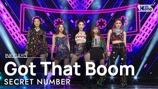 Download SECRET NUMBER(시크릿넘버) - Got That Boom @인기가요 inkigayo 20201122