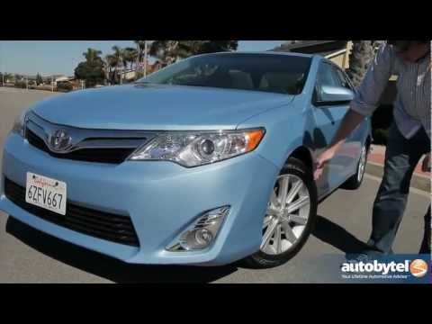 2013 Toyota Camry V-6 Test Drive & Car Video Review