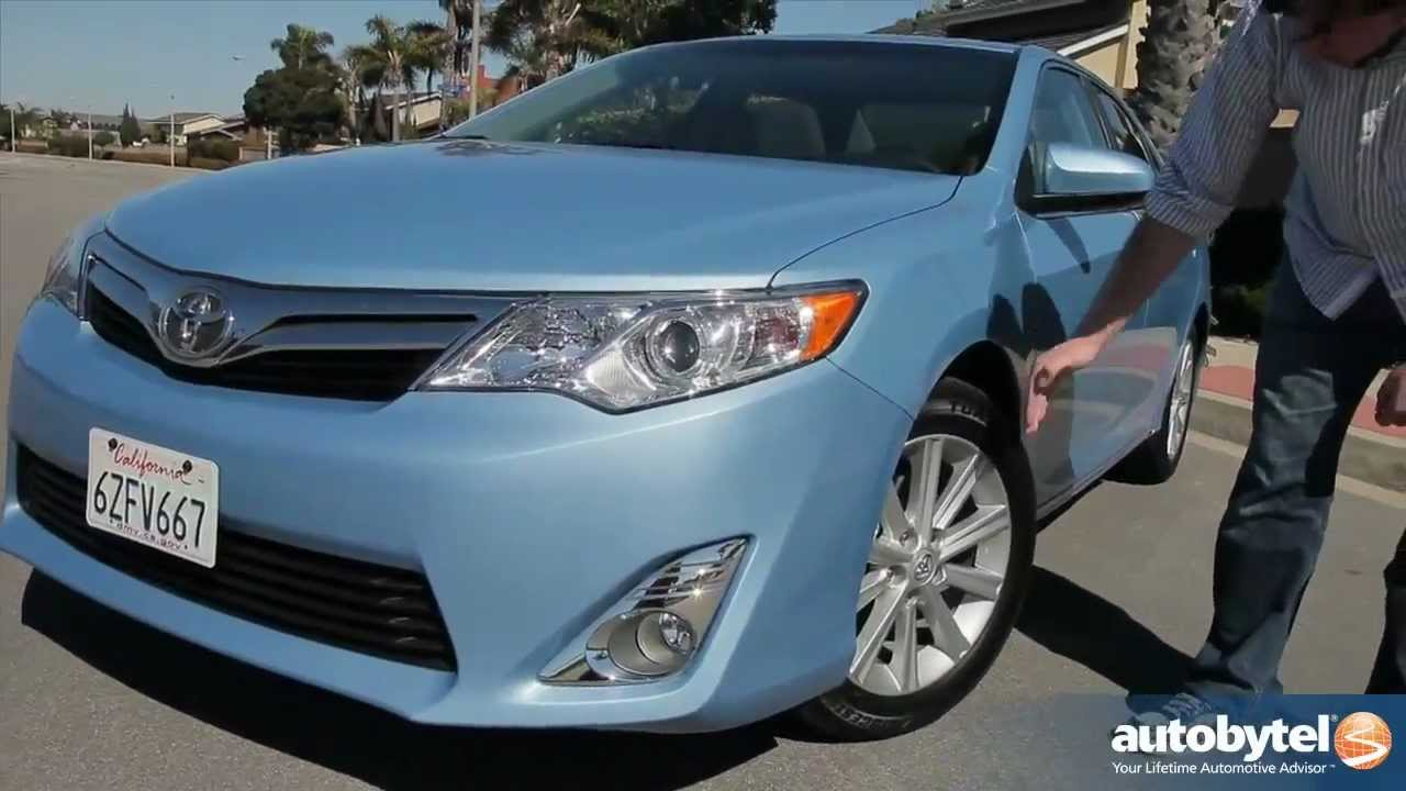 2013 Toyota Camry V 6 Test Drive U0026 Car Video Review