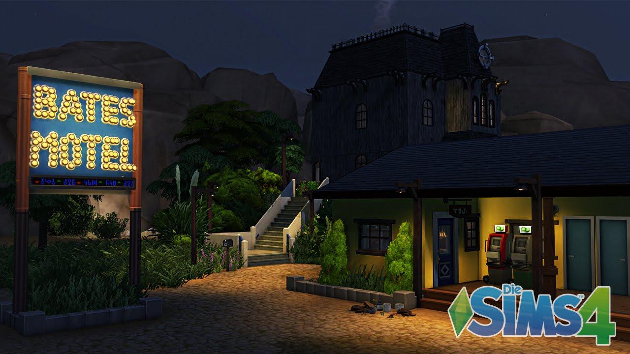 Bates Motel ( Sims 4 ) - YouTube