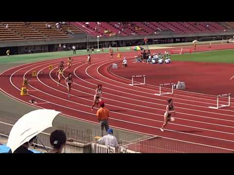 第50回京都府高等学校ユース陸上競技対校選手権 女子2年400mH決勝