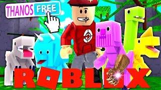 THANOS DINO UNLOCKED !! 🦕 Roblox *Dino* Pet Simulator #1