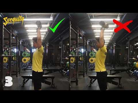 [VA04] Tập vai - Standing Dumbbell Shoulder Press