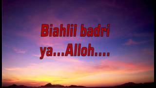 Video Sholawat Badar Karaoke download MP3, 3GP, MP4, WEBM, AVI, FLV Agustus 2018