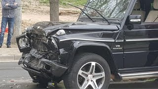 New Mercedes-Benz Gelandewagen (G-Class) Crash | Аварии Мерседес Гелендваген (Гелик) pt.3