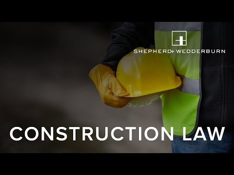 Construction Law - Procurement Reform