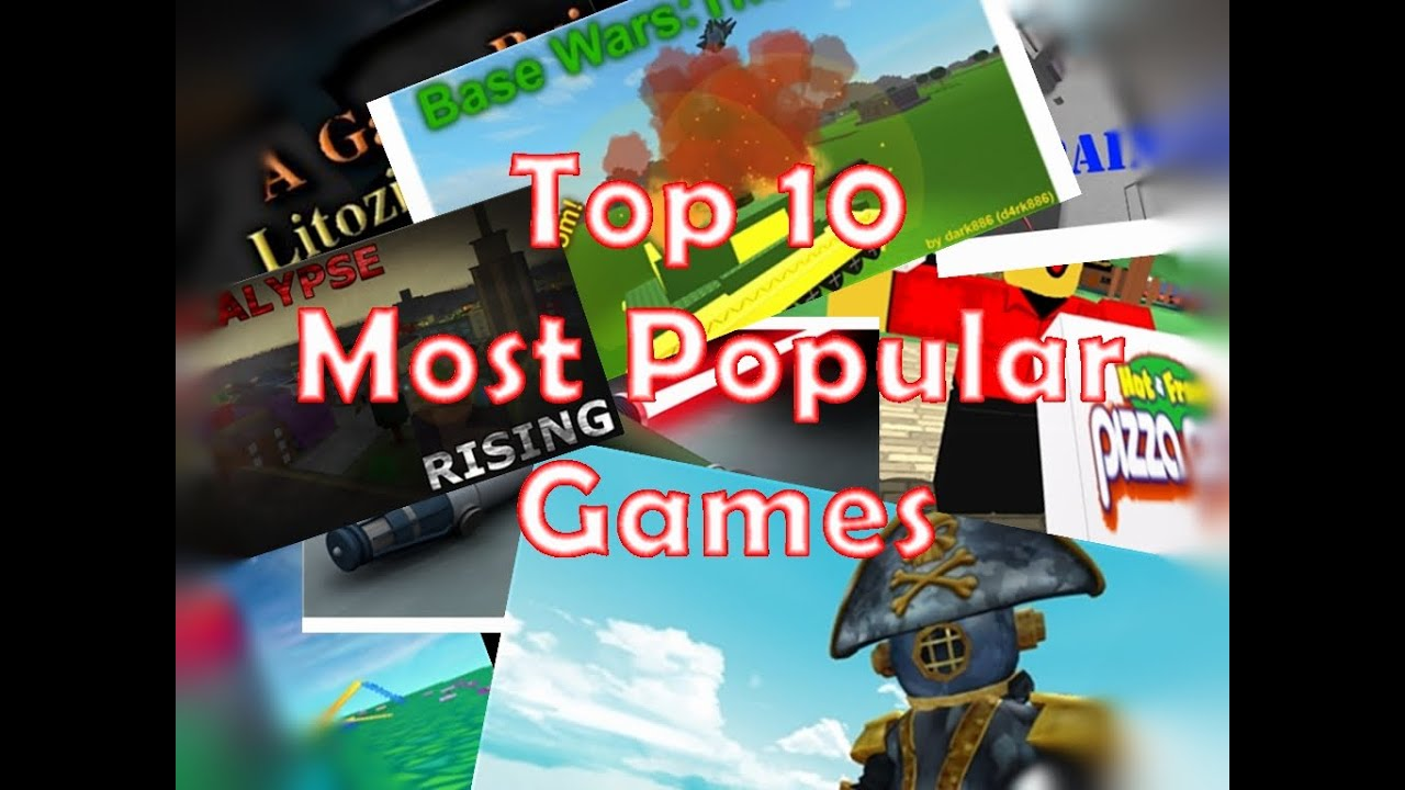 top 10 most popular games on roblox