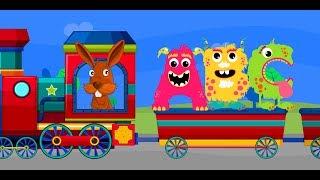 ABCD Alphabet Train song - 2D Animation Alphabet ABC Train Songs for children Nursery Rhymes 4k