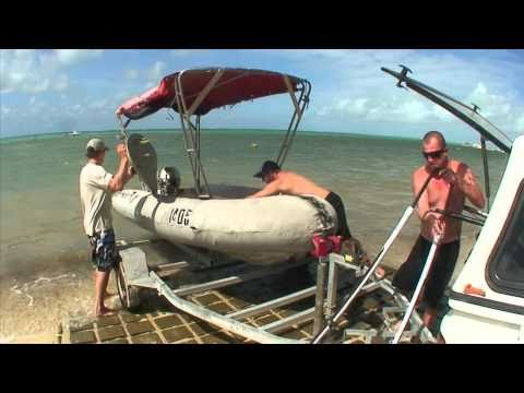 Jason Polakow On Cocos Islands 2010