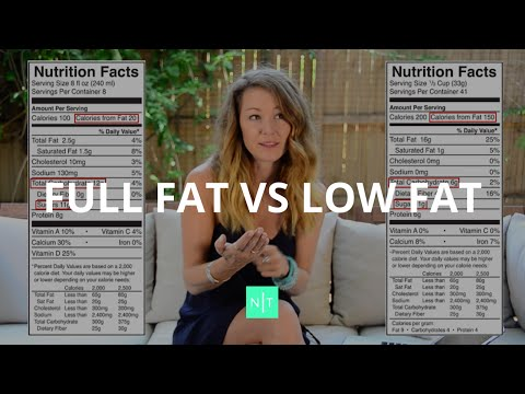 Should You Consume Full Fat or Low Fat Foods To Lose Weight